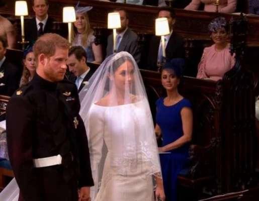 شہزادے ہیری کی امریکی اداکارہ میگھن مارکلے سے شادی