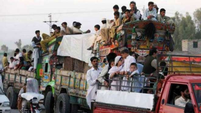 افغان صوبہ خوست سے عارضی طورپر بے گھر افراد کی واپسی کا عمل جاری ،6ہزار ..