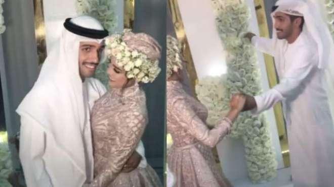 متحدہ عرب امارات میں ایک مشہور اداکار کی منگنی کی پارٹی کی متنازعہ ..