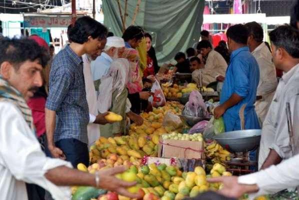 صوبائی دارلحکومت میں پرچون سطح پر پھلوں اور سبزیوں کی قیمتیں بدستور ..