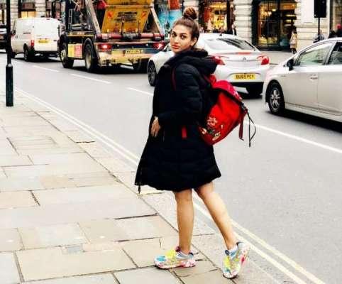 اداکارہ ثناء نے لندن میں ملٹی نیشنل کمپنی کیلئے کمرشل شوٹ مکمل کروادیا