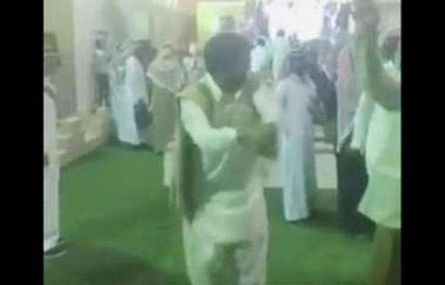 سعودی عرب جناردیہ میلے میں پاکستانی کے رقص نے دھوم مچا دی