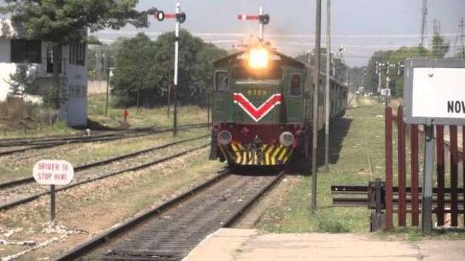 پبی ریلوے سٹیشن کے قریب ٹرین پٹری سے اتر گئی،