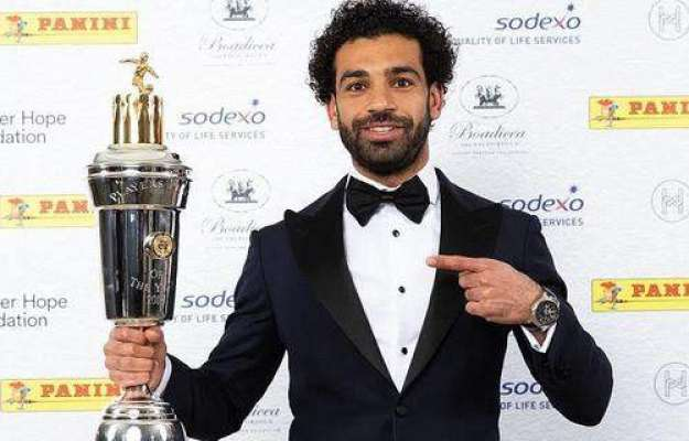 مصر کے محمد صلاح رائٹرز فٹ بالر آف دی ایئر قرار پائے