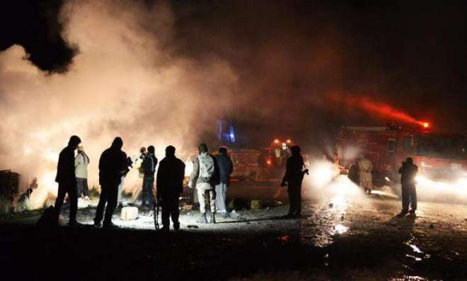پشاور میں عوامی نیشنل پارٹی کے جلسے میں خوفناک دھماکہ،اے این پی رہنما ..