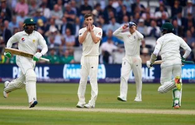 """لارڈ ٹیسٹ ،شاہینوں نے انگلش ٹیم کے """"پر """" کتر دیئے"""