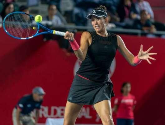 گاربین موگوروزا ہانگ کانگ اوپن ٹینس ٹورنامنٹ ویمنز سنگلز کوارٹر فائنل ..