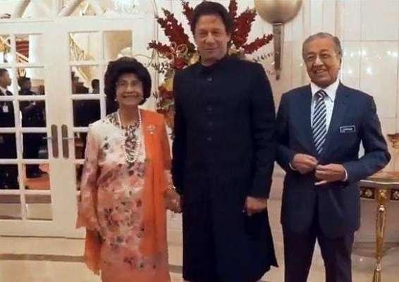 ملائیشین خاتون اول نے وزیراعظم عمران خان کا ہاتھ تھامنے کی وجہ بتا ..