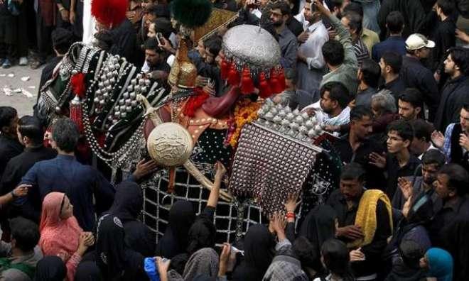 راولپنڈی میں بھی یوم عاشورہ عقیدت و احترام سے منایا گیا