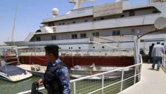 سابق عراقی صدرصدام حسین کی کشتی کو پائلٹس کی آرام گاہ میں تبدیل کردیاگیا