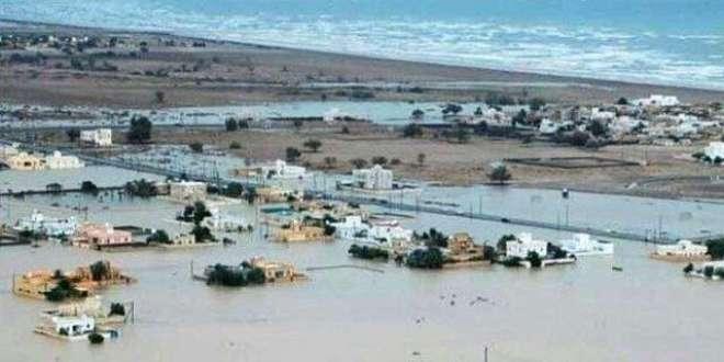 عمان، میکونو طوفان کے باعث آسماں ٹوٹ کر برسا،تمام ریکارڈ ٹوٹ گئے،278ملی ..