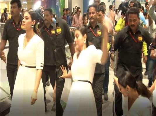 کاجول ہالی وڈ فلم ''انکریڈیبلز 2'' کے ہندی ورژن کی تشہیر کے دوران ..