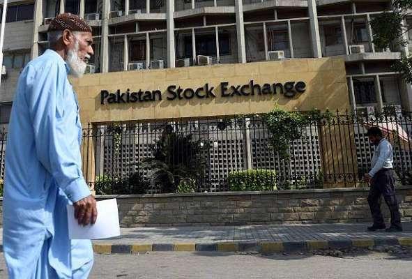 پاکستان اسٹاک ایکس چینج میں مندی، 100انڈیکس میں129.60پوائنٹس کی کمی ریکارڈ ..