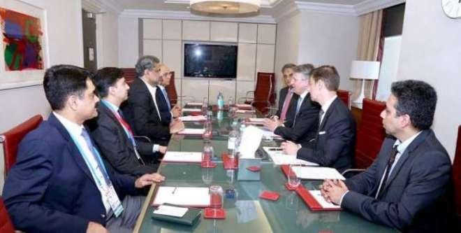 وزیراعظم سے رائل ڈچ شیل کمپنی کے وفد کی ملاقات ،