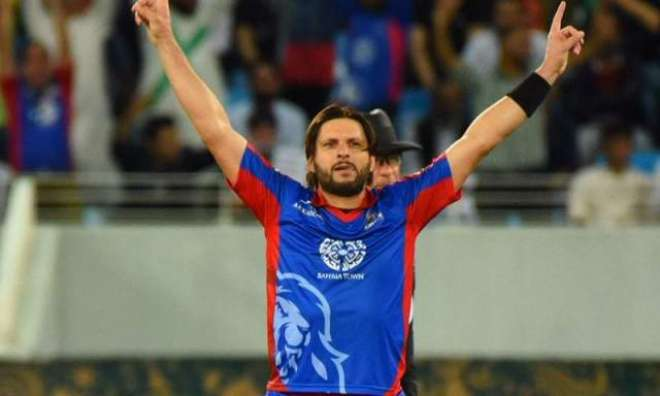 شاہد آفریدی نے اپنی غیر ملکی ٹیم بنا لی
