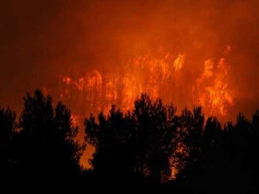 کیلیفورنیا ،رہائشی عمارات آگ کی لپیٹ میں