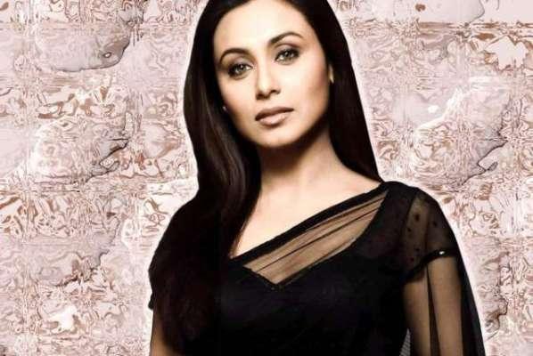 بالی وڈ فلمسٹار رانی مکھرجی نے کشمیریوں کے حق میں آواز اُٹھا دی