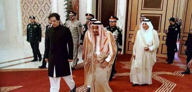 وزیراعظم عمران خان کا سعودی فرمانروا شاہ سلمان بن عبدالعزیز کی دعوت ..