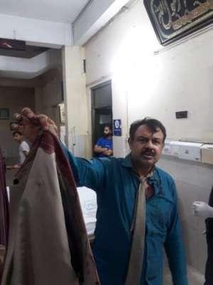 صحافی بھی نامعلوم افراد کے نشانے پر آ گئے