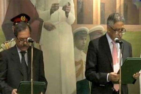 نگراں وزیر اعلیٰ فضل الرحمان کی گورنر سندھ سے ملاقات ،