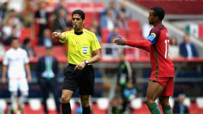 2018ئ  فیفا ورلڈ کپ کے ریفری فہدال مرداسی کو میچ فکسنگ کرنے پر تاحیات ..