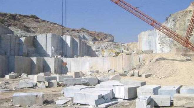 پاکستان اٹلی سے مشینری درآمد کر کے ماربل کی صنعت کو بہتر ترقی دے سکتا ..