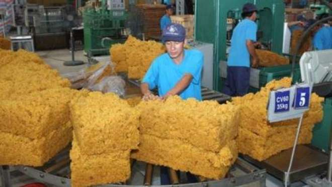 ایشیائی منڈیوں میں خام ربڑ کے نرخوں میں کمی
