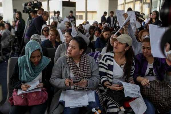 فلپائن نے روزگار کے لئے کویت جانے کے خواہاں شہریوں پر عائد پابندی ختم ..