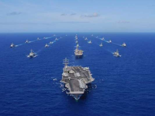 امریکہ نے جنوبی چینی سمندر میں چین کا مقابلہ کرنے پر غور شروع کر دیا