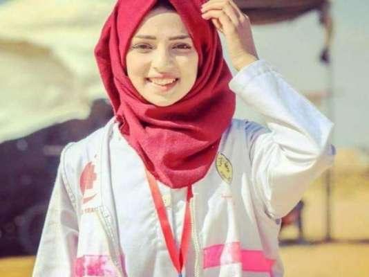فلسطینی نرس اسرائیلی سنائپرز کی فائرنگ سے شہید،ماں صدمے سے نڈھال