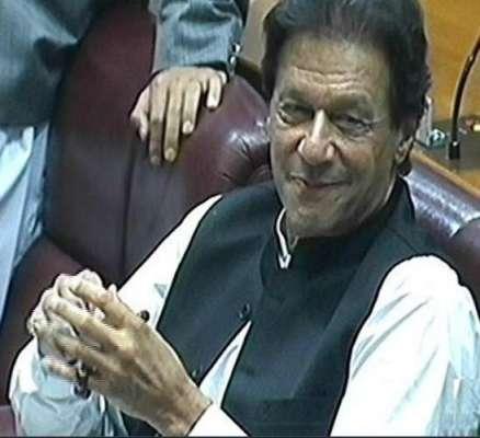 عمران خان وزیر اعظم بن گئے