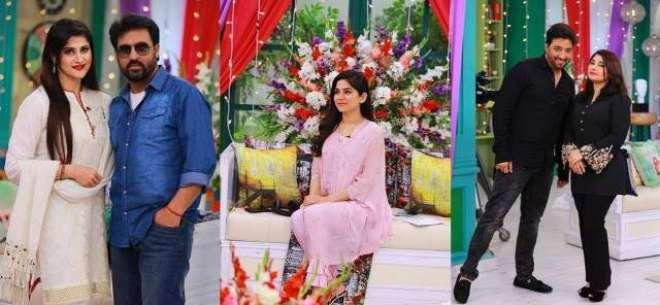 ریمبو ، صاحبہ ، سعود اور جویریہ کی نجی ٹی وی چینل کے مارننگ میں شرکت
