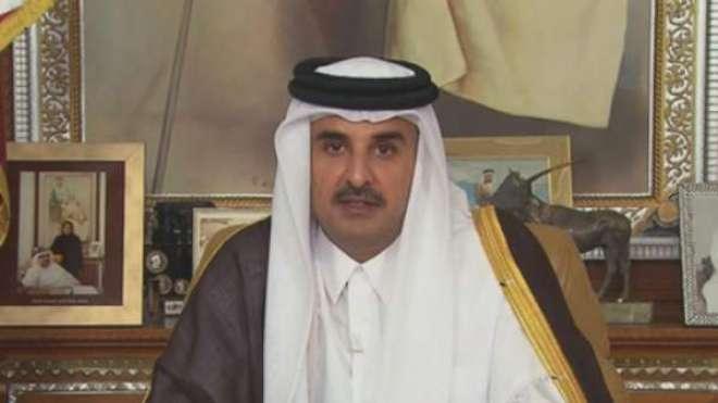 امیر قطر کی بدنام زمانہ دہشت گرد افریقی شخصیت کے ساتھ مصافحے کی تصویروائرل
