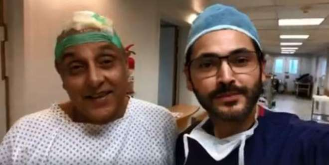 معروف ڈاکٹر و اداکار فہد مرزا لیجنڈری اداکار ساجد حسن کی سرجری کریں ..