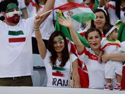 ایرانی خواتین کو اسٹیڈیم میں میچ دیکھنے کی اجازت جلد مل جائے گی ،ْ سربراہ ..