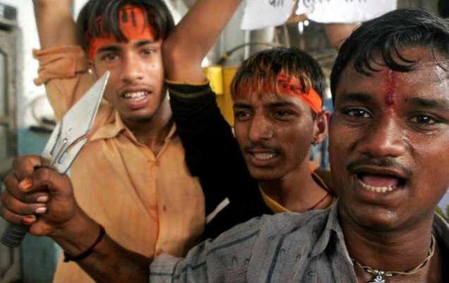 ساڑھے تین لاکھ انتہا پسند ہندو کشمیر میں داخل ہو گئے، کشمیریوں کی نسل ..