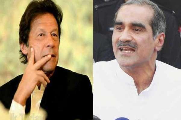عمران خان کے پاس اے ٹی ایمز کی کمی نہیں،خواجہ سعد رفیق