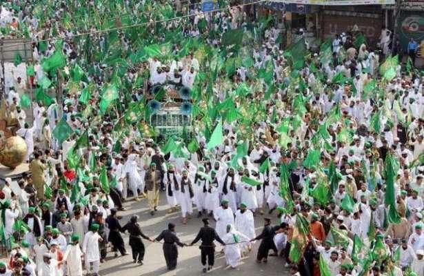 عاشقان رسولؐ کل جشن عید میلاد النبیؐ مذہبی عقیدت و احترام اور شایان ..