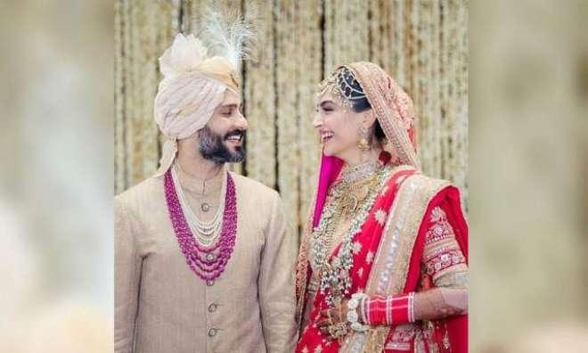 شادی کے بعد سونم کپور کے شوہر نے بھی نام تبدیل کرلیا