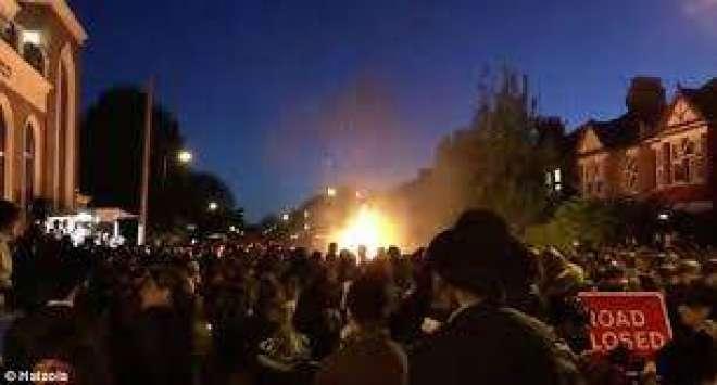 لندن میں موبائل فون سے دھماکہ ،30 افراد زخمی