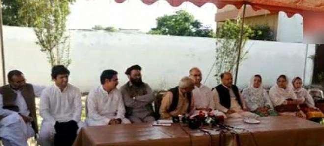 عمران خان اور پرویز خٹک 15 دن کے اندراندر اراکین اسمبلی سے معافی نہ مانگی ..