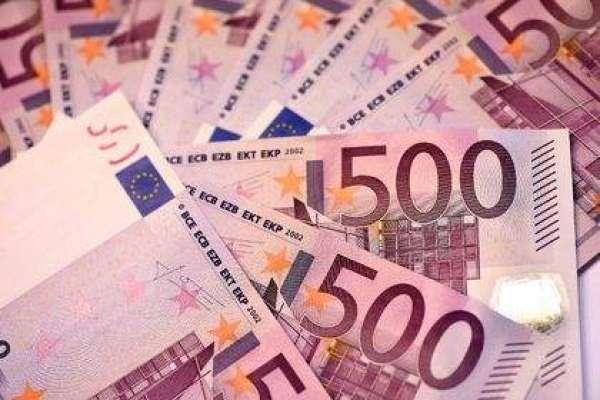 یورو کی شرح تبادلہ گذشتہ تین ہفتے کی بلند سطح پر آ گئی