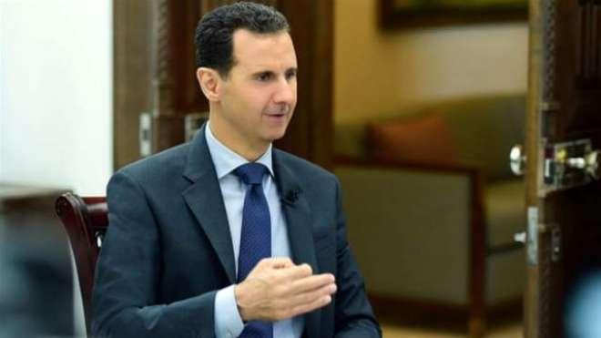 امریکا عراق سے سبق حاصل کرے اور شام سے نکل جائے، بشارالاسد