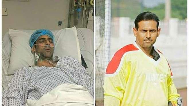 شاہد آفریدی فاﺅنڈیشن جلد منصوراحمد کوعلاج کیلئے بیرون ملک بھیجے گی