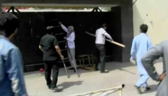 فیصل آباد ،ْ ایس ایچ او پر تشدد،