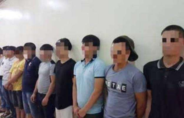 سعودی عرب ، چوریوں میں ملوث 10 ایشیائی افراد کا گروہ گرفتار