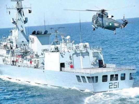 پاکستان نیوی کی بحری مشق سی اسپارک 2018 کا آغاز کر دیا گیا