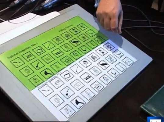 الیکٹرانک ووٹنگ کی حکومتی سرپرستی میں تیار کوئی اسکیم منظور نہیں