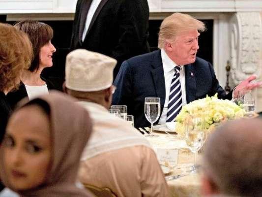 امریکی صدر ٹرمپ کی جانب سے وائٹ ہاؤس میں پہلی بار افطار ڈنر،مسلم تنظیم ..