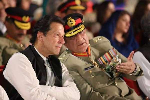 وزیراعظم  عمران خان کا  آئی ایس آئی ہیڈکوارٹرز کا دورہ